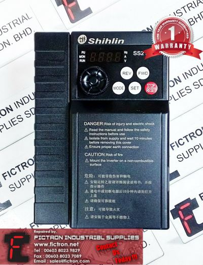 Repair Service Malaysia - SS2-043-2.2K SHIHLIN 2.2kW Inverter Singapore Indonesia Thailand