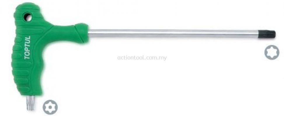 L-Type Two Way Star & Tamperproof Key Wrench