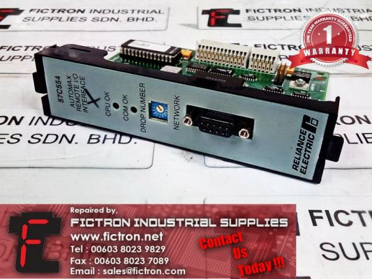 Repair Service Malaysia - 57C554 RELIANCE ELECTRIC Automax Remote Interface Singapore Indonesia