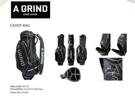 A Grind Kobe Japan Caddy Bag