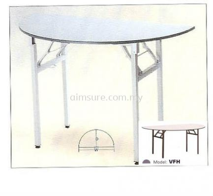 Foldable Cresent Table VFH