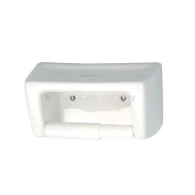 STW Toilet Roll Holder With Shelf