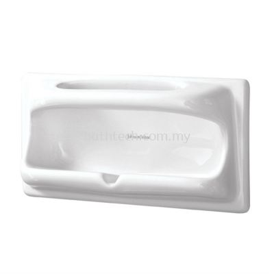 Semi-Recessed Soap & Sponge Holder