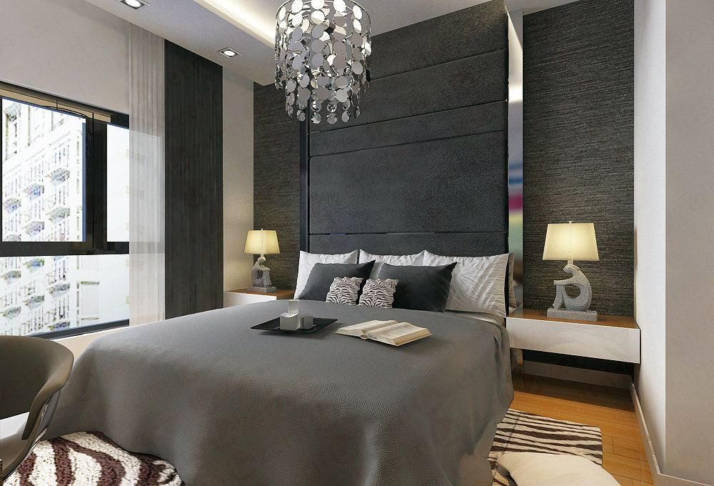 Expressing Pure Comfort And Luxury Master Bedroom Modern ...