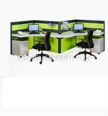 2 Seat Office Block System (AIM60-C3-1-BS)