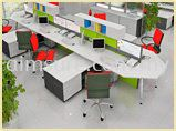 Large Office Workstation System (AIM60-C8-L-S-5HIT-HT)