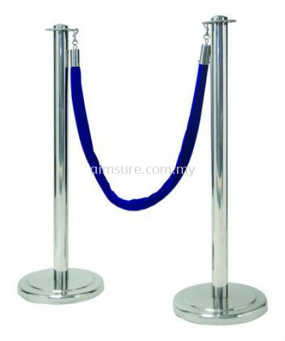 Queue Up Stand Retractable ( Blue )