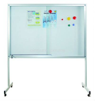 Aluminium Mobile Stand Notice Board