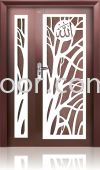 P4-W72 5ft x 7ft Art Design Security Door (NEW)