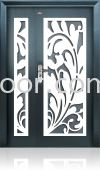 P4-W988 5ft x 7ft Art Design Security Door (NEW)
