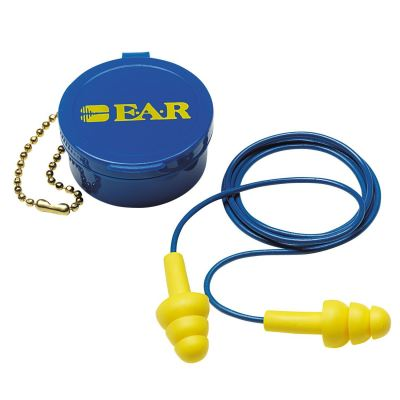 3M EAR 340-4002 Reusable Earplugs with Cord and Case
