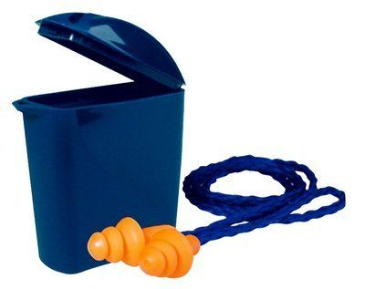 3M 1271 Reusable Earplugs with Cord and Case