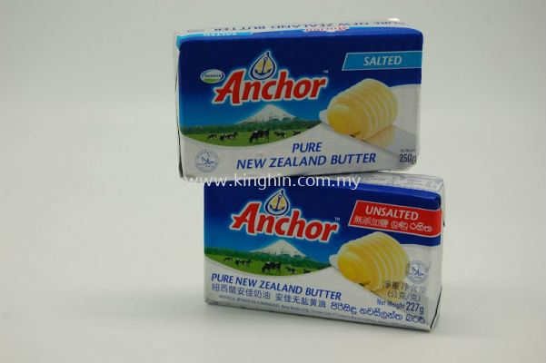 Anchor Butter - (Salted 250gm),(Unsalted 227gm)