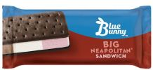 BB Big Neapolitan Ice Cream Sandwich Novelty Ice Cream