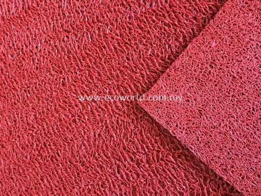 Heavy Duty Coil Mat (Unbacked)-Red