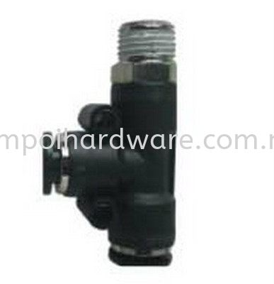 Push In Fitting JPD BRANCH TEE Push In PU Fitting Pneumatic Tools