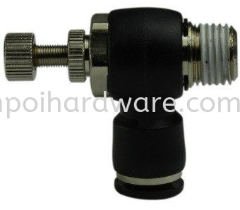 Push In Fitting JSC SPEED CONTROLLER Push In PU Fitting Pneumatic Tools