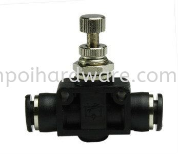 Push In Fitting JVA SPEED CONTROLLER Push In PU Fitting Pneumatic Tools