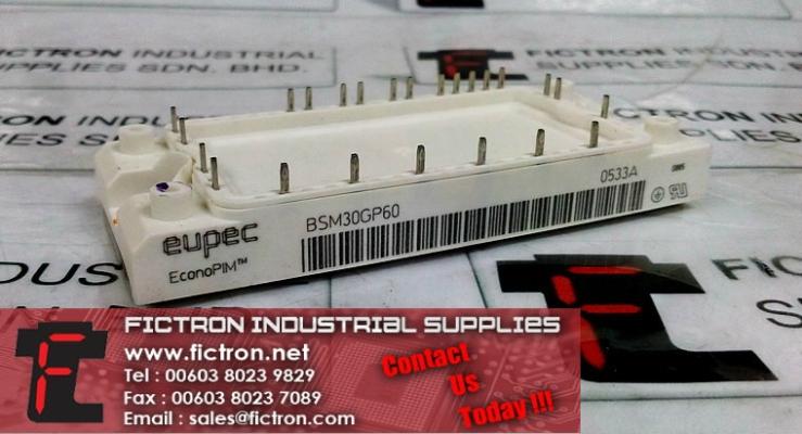 BSM30GP60 EUPEC EconoPIM Power Module Supply Malaysia Singapore Thailand Indonesia Philippines Vietnam Europe & USA
