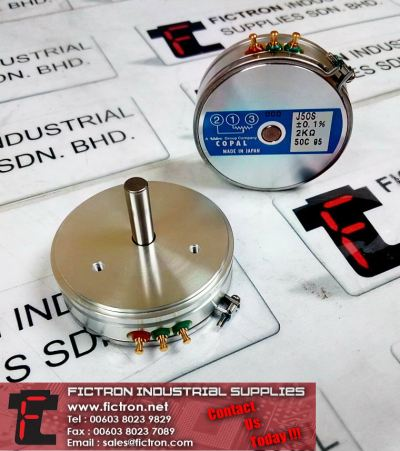 J50S 2K +-0.1% 2k Ohm COPAL Potentiometer  Supply Malaysia Singapore Thailand Indonesia Philippines Vietnam Europe & USA