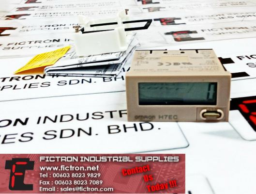 H7EC-N OMRON Total Counter Supply Malaysia Singapore Thailand Indonesia Philippines Vietnam Europe & USA