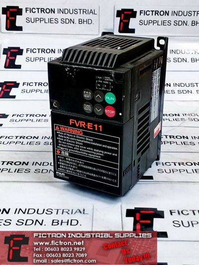 FVR0.2E11S-2 FUJI ELECTRIC 3PH 0.57kVA Inverter Supply & Repair Malaysia Singapore Thailand Indonesia Philippines Vietnam Europe & USA