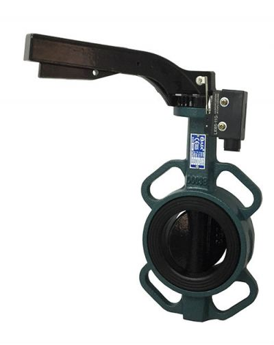 AFA Butterfly Valve c/w Micro Switch