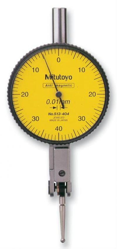 MITUTOYO 	513-404E.  DIAL INDICATOR, ADJUSTABLE