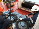 Fall Wire Replacement Davits,Winches and Release Mechanisms