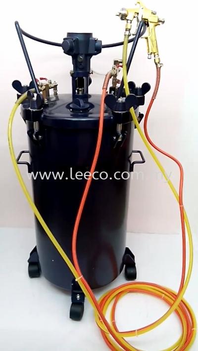 Paint suction spray pressure tank 80L