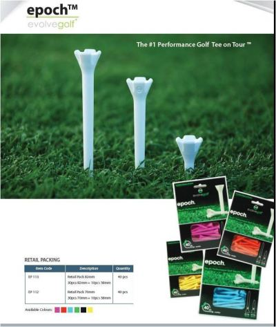 Epoch EvolveGolf Tees