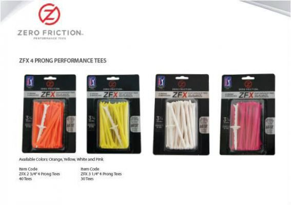 ZFX 4 PRONG PERFORMANCE TEES