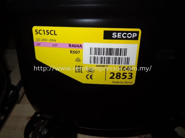 SECOP COMPRESSOR MODEL SC15CL(104L2853)