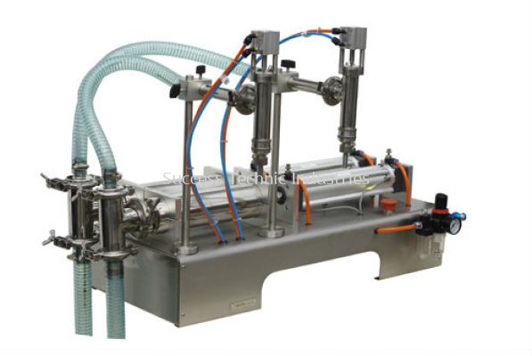 FP800-02 10-100ml LIQUID FILLING MACHINE(PNEUMATIC AND ELECTRICAL SEMI-AUTO) CODE:3568200