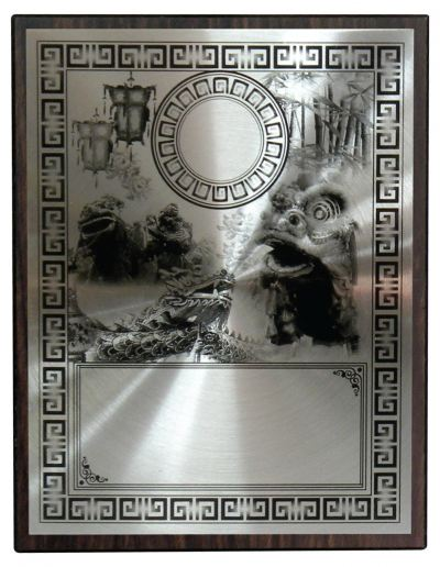 Aluminium  Plaques & Souvenirs With Stand WEP11 203