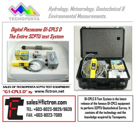 G1-CPLS D TECNOPENTA Complete Testing System Supply Malaysia Singapore Thailand Indonesia Philippines Vietnam Europe & USA