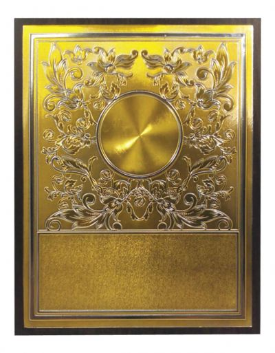 Aluminium Plaques & Souvenirs With Stand WEP11 306
