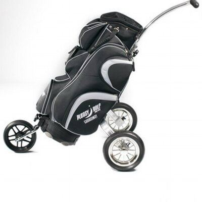 CaddieWay Golf Cart Bag with detachable Trolley