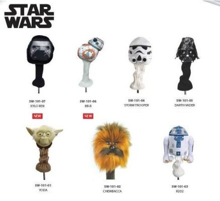 Star Wars Head Covers