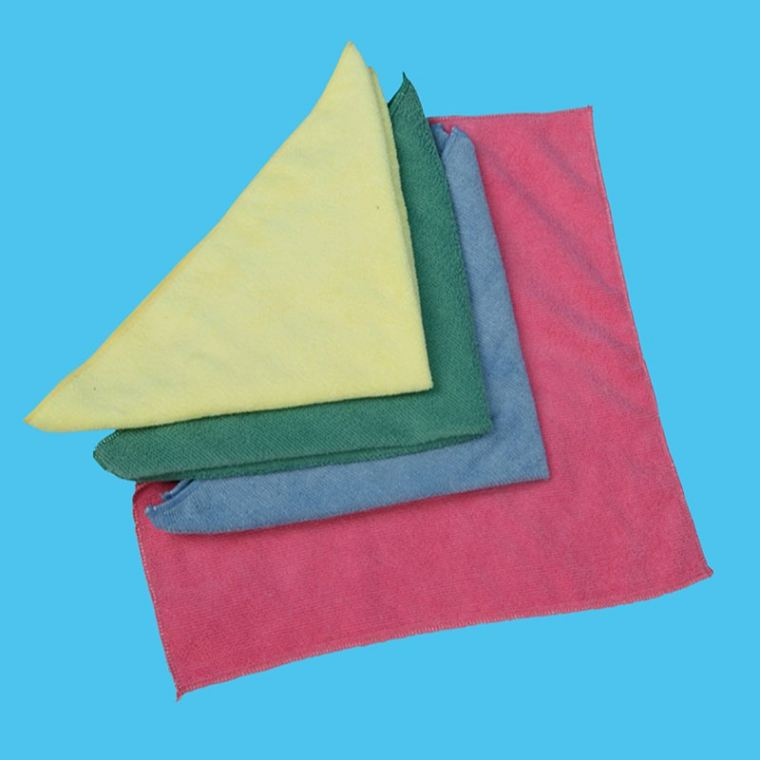 Microfibre Cloth (4 Colour) Mop Accessories Arona Mop Products