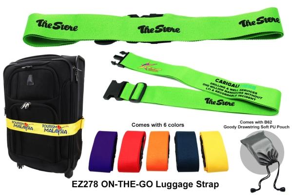 EZ278 ON-THE-GO Luggage Strap