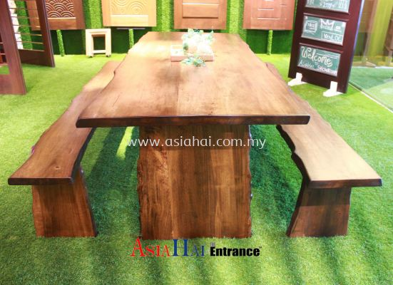 Dining set (1 table + 2 bench)