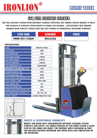 CTQ Full Electric Stacker