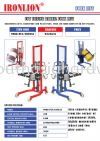 COT Tilting Barrel Fork Lift Fork Lift Lifting Equipment