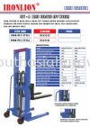CTY-A Hand Stacker (PU Wheel) Hand Stacker