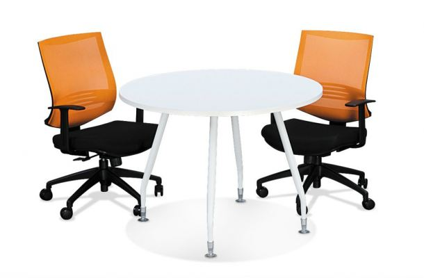 Round Meeting Table with Inula Leg