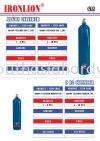 Argon Cylinder & C 02 Cylinder Gas
