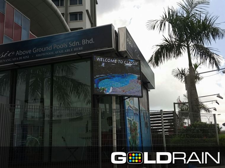 P5 Outdoor Full Color LED Banner