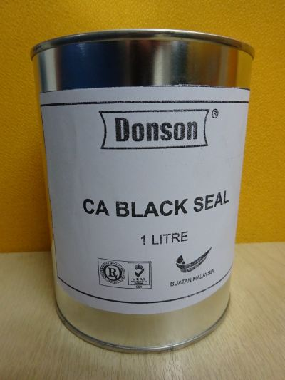 DONSON CA BLACK SEAL ADHESIVE X 1L (24-CAN/BOX)