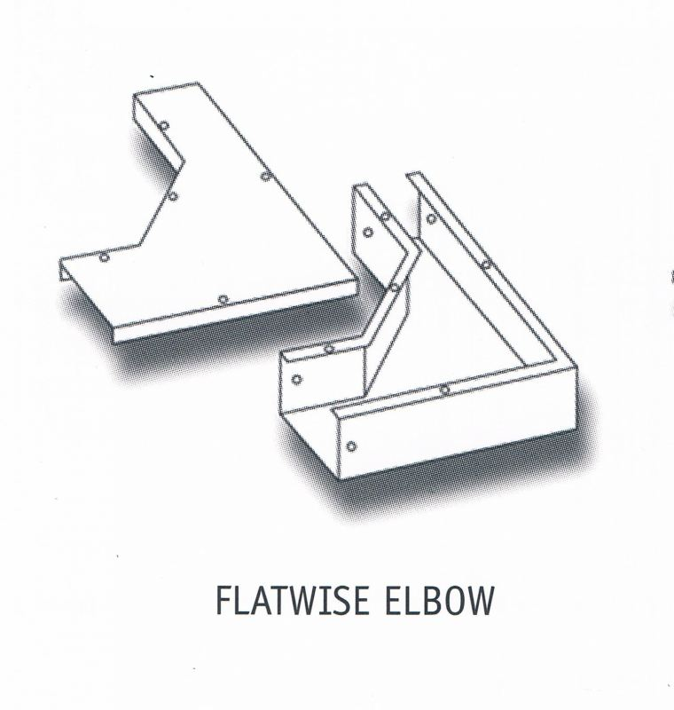 FLATWISE ELBOW Cable Trunking Cable Support Systems